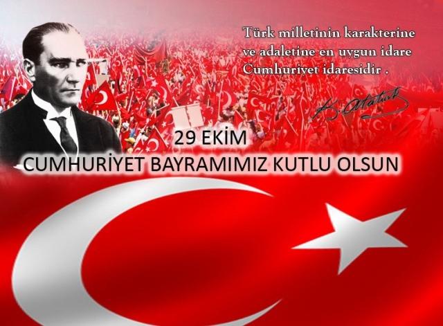 29 Ekim Türk Bayrağı