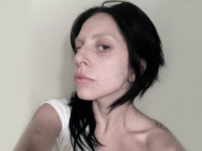 Lady Gaga Makyajsız