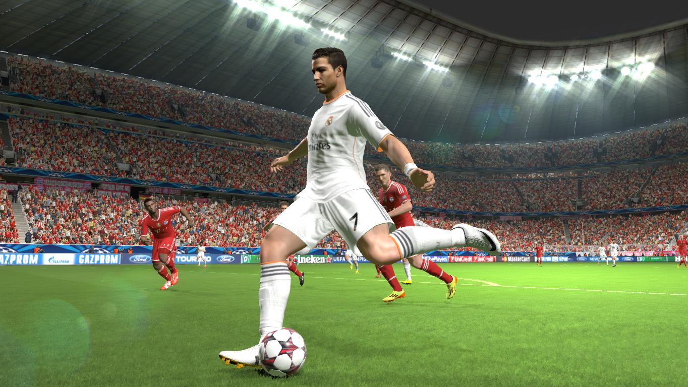 Pes 2015 oyun içi resim