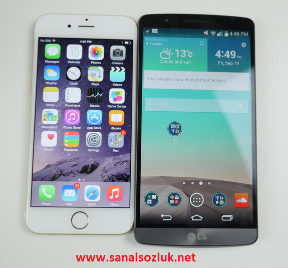 LG G3 - iPhone 6