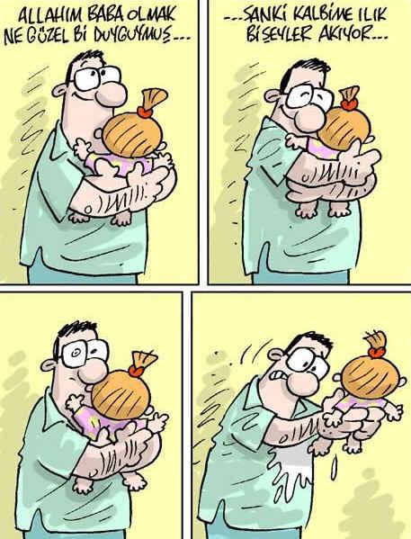 Babalar Günü Karikatürü