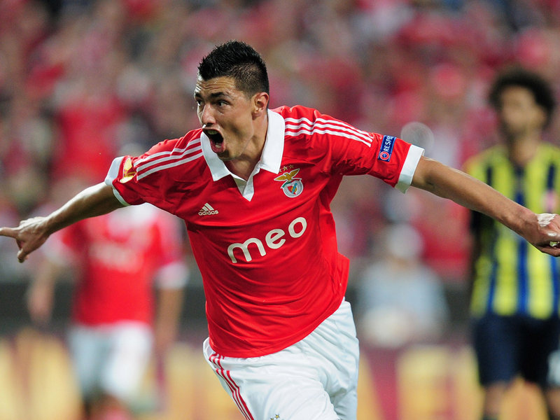 Oscar Cardozo Goal
