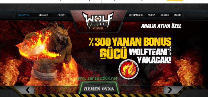Wolfteam Üye Ol
