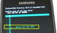 Samsung Telefona Format Atma