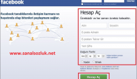 Facebook Hesap Nasıl Açılır ?