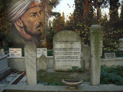 Şair Nedim'in mezarı