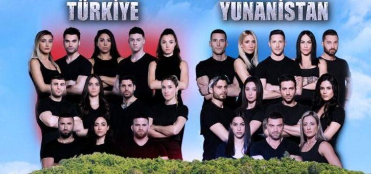Survivor Türkiye-Yunanistan Yine Zirvede!